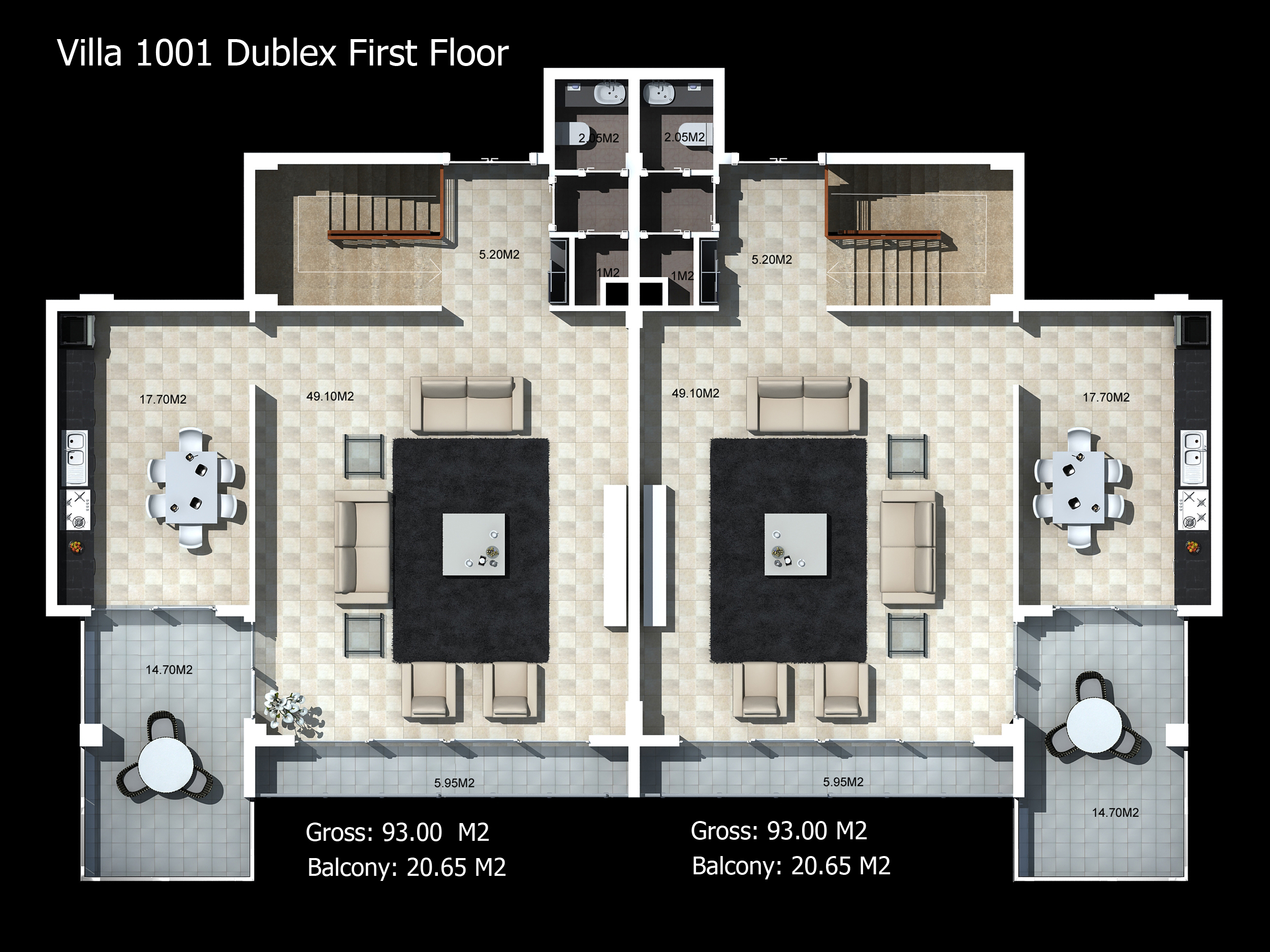 villa-1001-dublex-first-floor